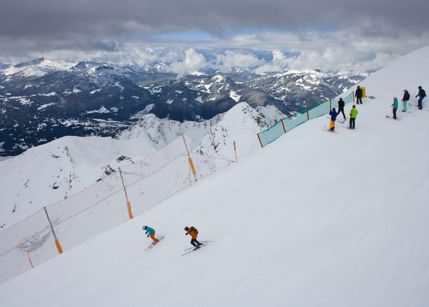 skiën in beieren